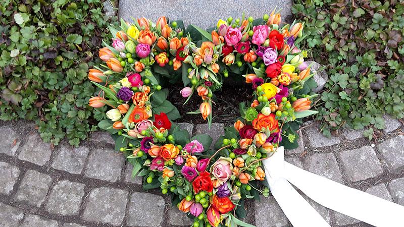 Krans - Søgade Begravelse