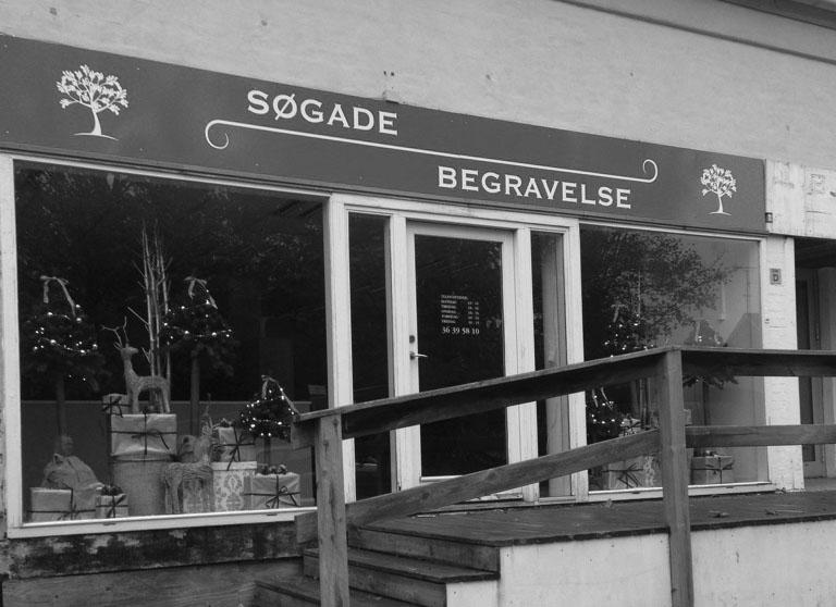 Bedemand i Bjæverskov - Søgade Begravelse